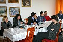 Semináře, který ve středu 30. ledna pořádala berounská občanská poradna, se účastnili sociální pracovníci