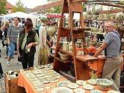 Hrnčířské trhy v Berouně.