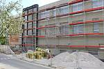 Přístavba pavilonu 2. ZŠ Preislerova v Berouně.