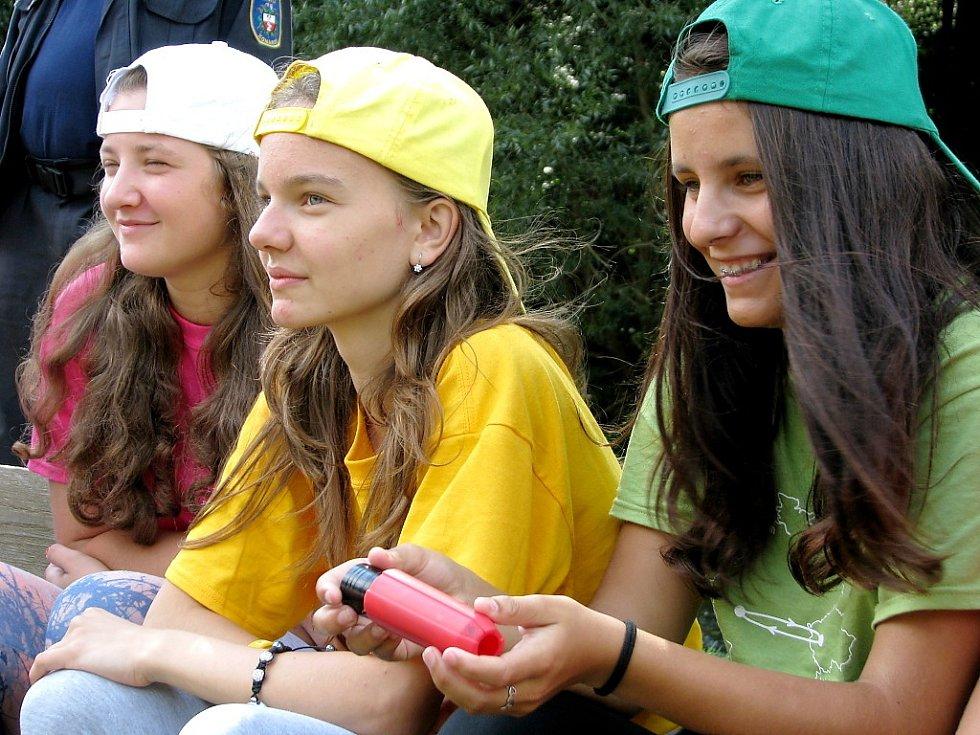 Tábor mladých hasičů na Zbirožském potoce má mezinárodní rozměr