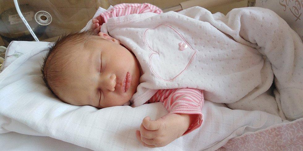 Stellinka Pospíšilová přišla na svět 2. června 2021 v 19. 57 hodin v čáslavské porodnici. Vážila 3080 gramů a měřila 49 centimetrů. Doma v Hlízově se z ní těší maminka Nocole a tatínek Josef.