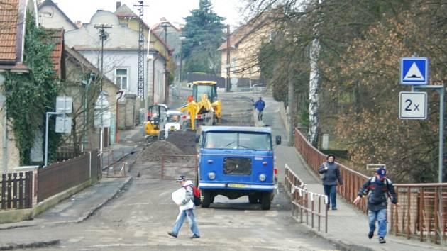 Rekonstrukce Sokolovické ulice v Hořovicích spolkne dvacet milionů korun.
