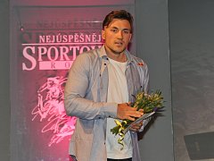 MARTIN FUKSA převzal během slavnostního vyhlášení nejúspěšnějších středočeských sportovců hned dvě ocenění.