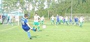 Hořovicko po velké převaze vyhrálo gólem Jana Macha.