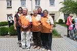 Sportovní olympiádá seniorů ve Zdicích přilákala družstva důchodců z okolních domovů