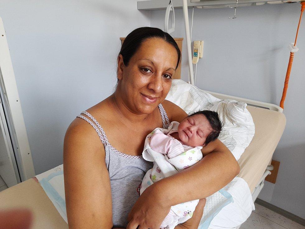 Klaudie Kozarová přišla na svět 14. července 2021 ve 3.40 hodin v čáslavské porodnici. Vážila 2880 gramů a měřila 48 centimetrů. Doma v Čáslavi se z ní těší maminka Kateřina a tatínek David.