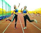 Mladí berounští atleti měli z bronzových medailí velkou radost.