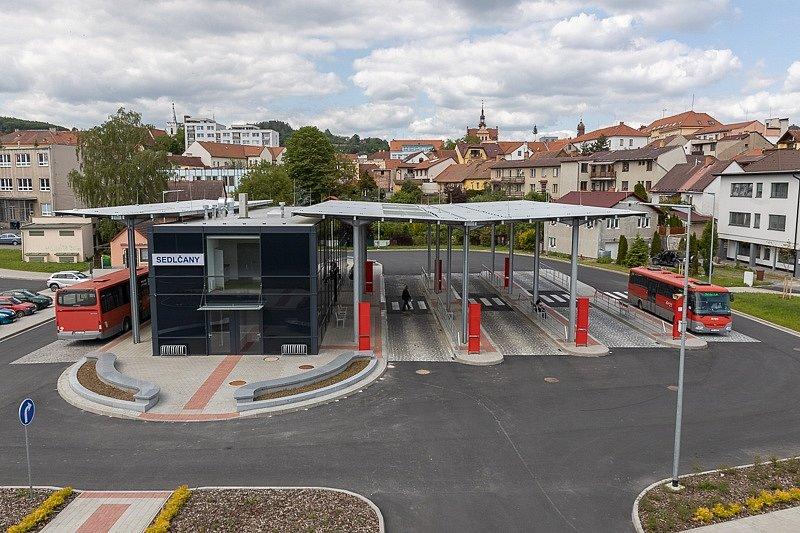 Stavba roku 2020 - nominace - Sedlčany, terminál