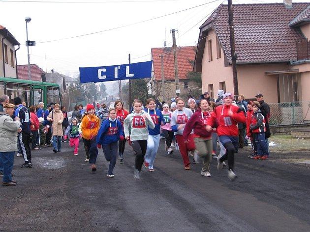 Závodníci zkoušeli v Oseku překonat vlastní rekordy