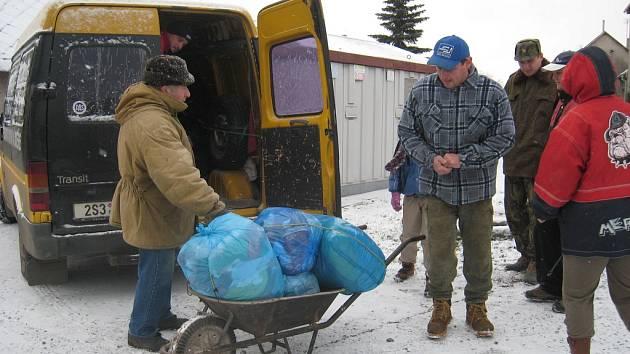 Sbírka pomůže potřebným