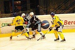 Hokej - playout 1. ligy: Beroun - Ústí 2:3 sn