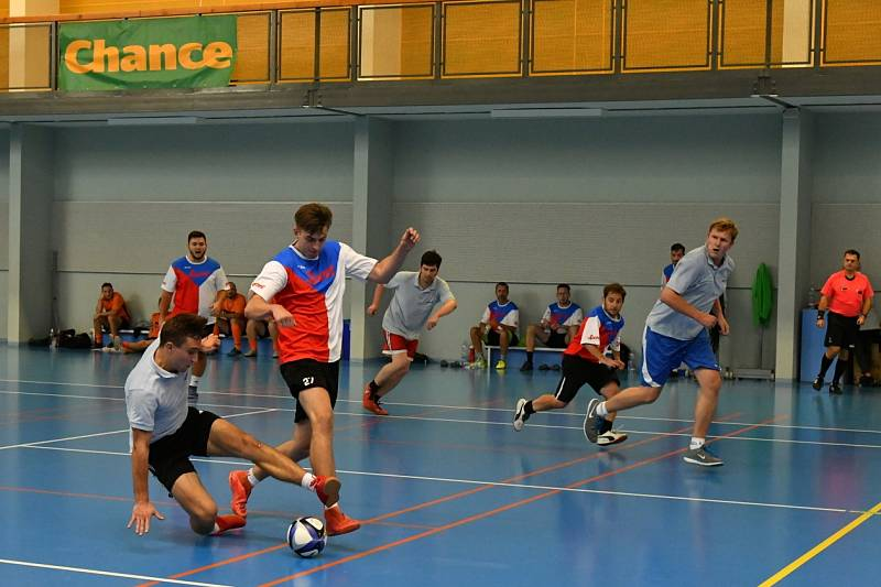 Další ročník Chance Press Cupu ve futsalu se v Berouně stal kořistí týmu televize Prima.