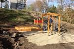 Nové dětské hřiště v Hlinkách
