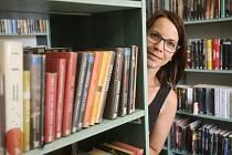 Ředitelka Městské knihovny v Berouně Michaela Škeříková.