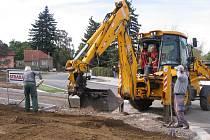 Rekonstrukce hořovického autobusového nádraží - 4. října 2012