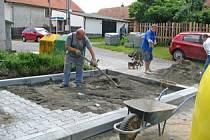 Na úpravách obce ušetří Lážovice statisíce korun