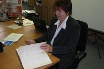 Jarmila Gruntová se mimo jiné stará o hořovickou kroniku