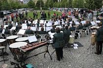 Holandský orchestr Fortissimo koncertoval v centru Berouna