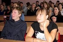 Studenti hořovického gymnázia se přidali k akci Bankéři do škol
