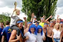 BEROUNSKÝ DRAK 2015 - Ve vloženém závodu měst patří prvenství opět Berounu.