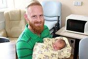 ŠARLOTA Krtková se narodila 25. ledna 2018 v příbramské porodnici. Holčička v ten den vážila 2,78 kg a měřila 48 cm. Šťastní rodiče Denisa a Lukáš si dcerku odvezli domů do Hatí. Foto: Příbramský deník/Šárka Spáčilová.