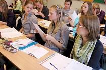 Generálka státní maturitní zkoušky prověřila i berounské gymnazisty