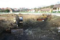 Odbahnění suchomastského rybníka