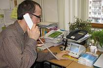 V Jungmannově základní škole v Berouně jsou proti cizím osobám chráněni kamerovým systémem a zvonkem s videotelefonem