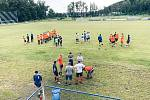 Pro sociálně slabé děti ji obstarali fotbalisté v Hořovicích při turnaji.