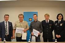 Dalšími nositeli titulu Gentleman silnic jsou Stanislav Smeták a František Novotný z Berounska