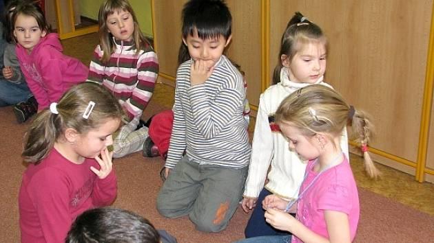 Jungmannova základní škola připravila pro předškoláky ukázkovou hodinu