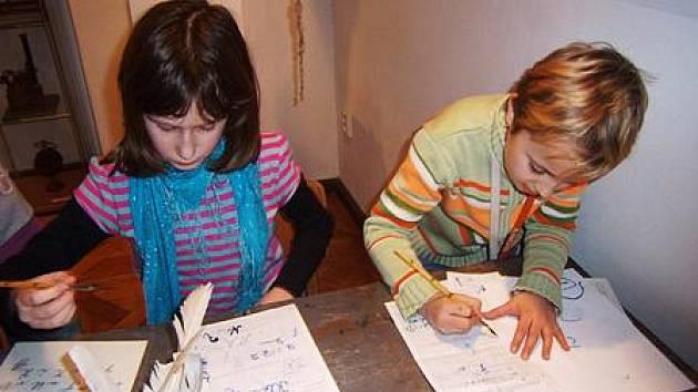 Děti v Muzeu Českého krasu