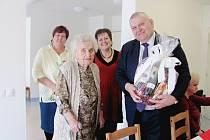 Anna Švestková oslavila 103. narozeniny