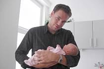 Kristýnka se narodila ve čtvrtek 21. května, vážila krásných 3,79 kg a měřila 51 cm. Porod byl pro maminku Pavlínu Vlasákovou náročný, ale už je vše zapomenuto, když člověk spatří ten nádherný uzlíček. Tatínek Tomáš si svoje děvčata odvezl domů do Hořovic