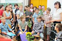 Konec školního roku v nižborské škole