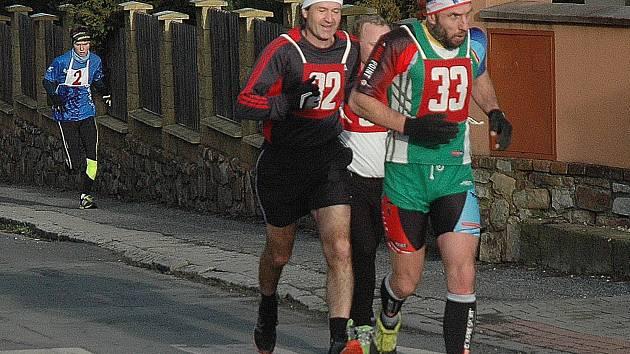 Start a cíl závodu byl tradičně u komárovské sokolovny.