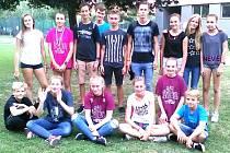 Berounští atleti na Evropských hrách mládeže.