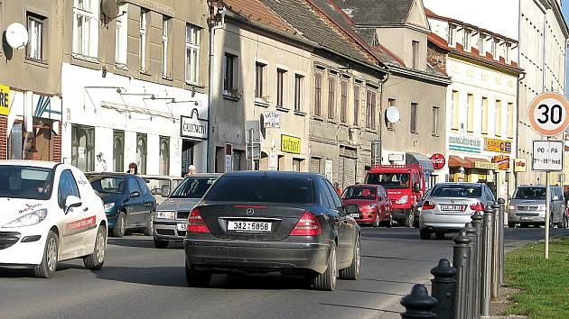 Plzeňská ulice v Berouně