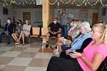 Prezentace účinků biodynamického světla v Domově seniorů v Berouně.