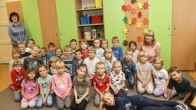 Základní škola v Králově Dvoře: třída 1.A.