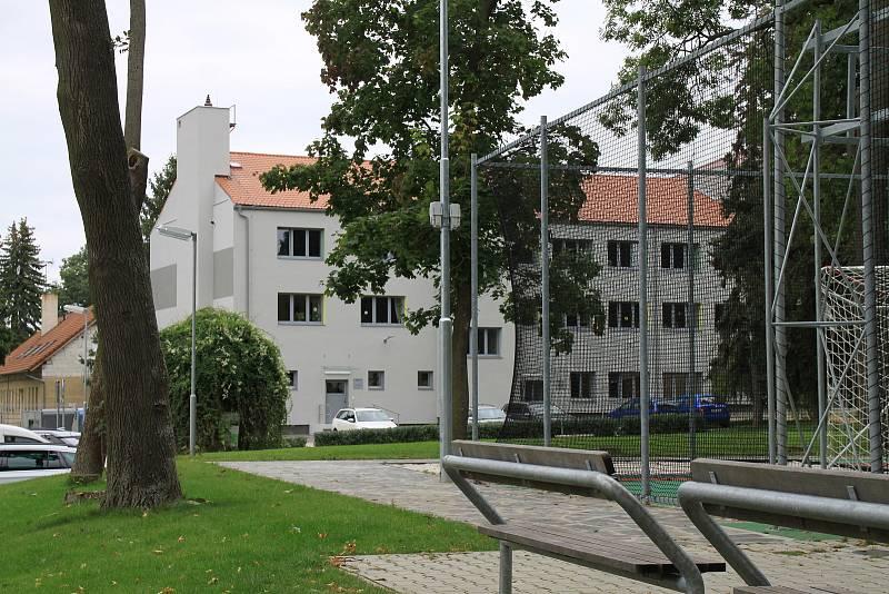Ze slavnostního otevření nového školního areálu v Litni 19. září 2021.