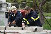 Před rokem se vinařičtí dobrovolní hasiči účastnili Okrskové soutěže v požárním sportu ve Tmani, odkud si družstvo sboru odváželo domů bronz.