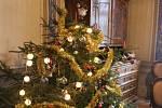 Na návštěvníky výstavy dýchly Vánoce