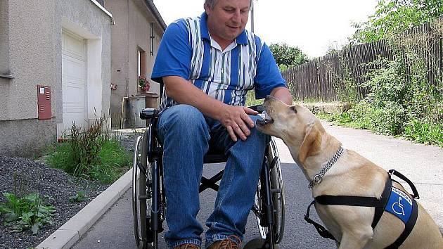 Asistenční pes pomocníkem