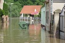V úterý dopoledne po povodních v Srbsku