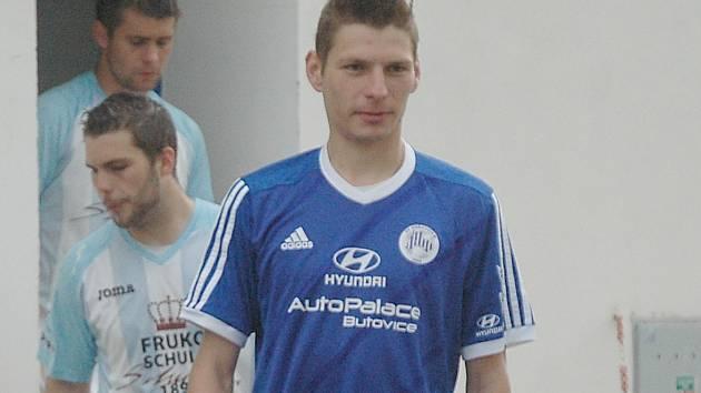 Daniel Hájek ještě v dresu Hořovicka.