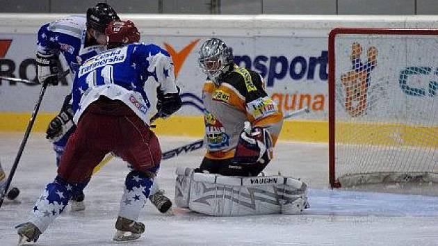 Krajská liga hokeje: Kralupy - Králův Dvůr 6:5 sn