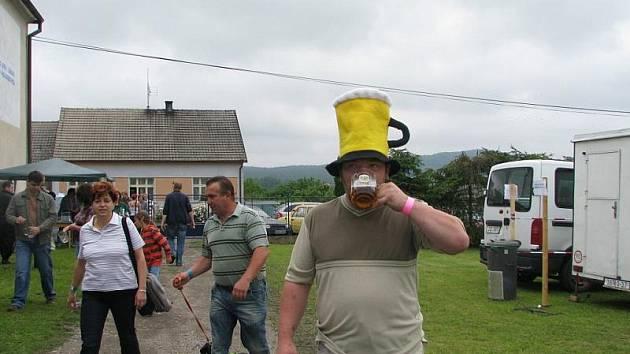 Pivní slavnosti v Cerhovicích.