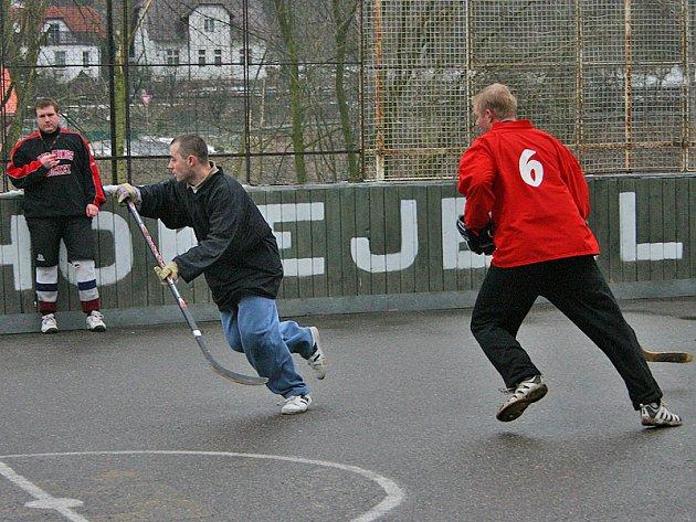Nižborská hokejbalová liga:Diablo Beroun - Lemra Nižbor