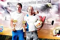 Dušan Plodr (vpravo) přivezl bronz.